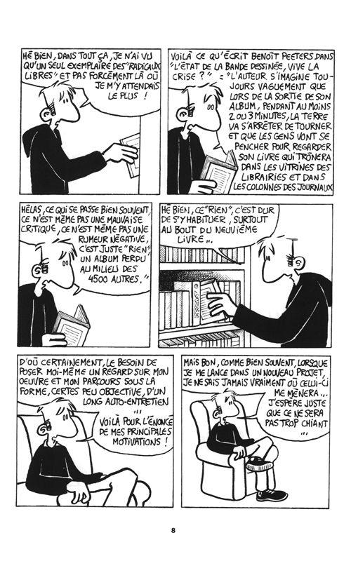 La Bande dessinée ou comment j'ai raté ma vie, bd chez PLG de Barale