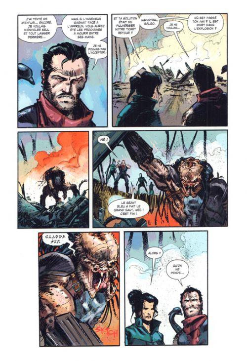 Prometheus : Fire and Stone T2 : Predator (0), comics chez Vestron de Williamson, Mooneyham, Lucas, Brown, Graciano