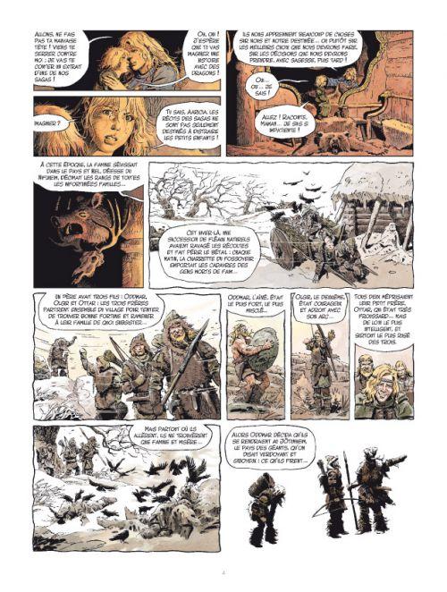 Les Mondes de Thorgal – cycle La jeunesse de Thorgal, T8 : Les deux bâtards (0), bd chez Le Lombard de Yann, Surzhenko, Rosinski