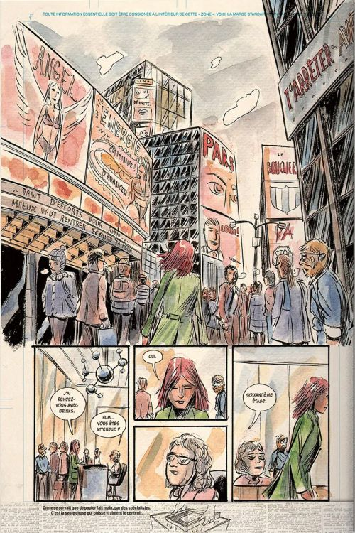 Mind MGMT, comics chez Monsieur Toussaint Louverture de Kindt