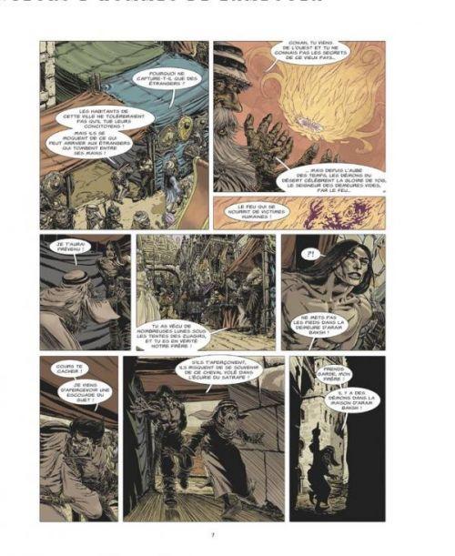 Conan le Cimmérien T9 : Les Mangeurs d'hommes de Zamboula (0), bd chez Glénat de Gess