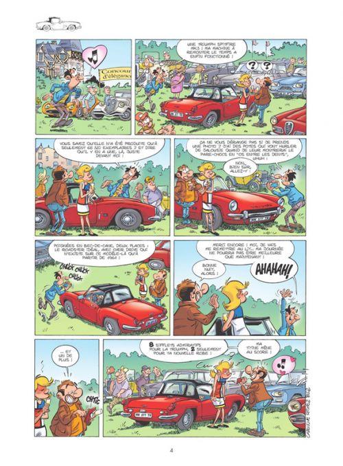 Les Fondus de voitures de collection T1, bd chez Bamboo de Cazenove, Richez, Bloz, Schelle