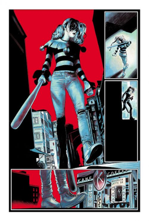 Harley Quinn  : Breaking glass (0), comics chez Urban Comics de Tamaki, Pugh