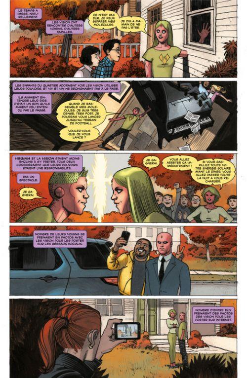 La Vision : Un peu moins qu'un homme (0), comics chez Panini Comics de King, Hernandez Walta, Walsh, Bellaire
