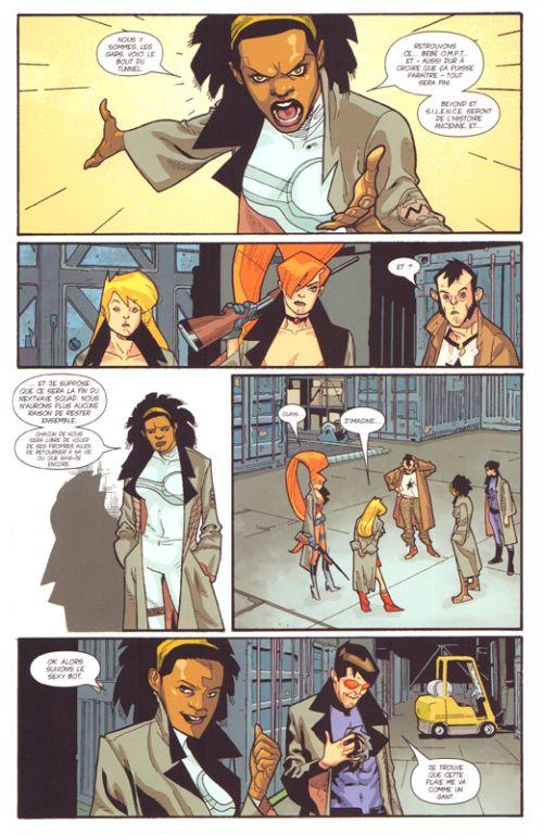 Nextwave : Rendez-vous avec la H.A.I.N.E. (0), comics chez Panini Comics de Ellis, Immonen, McCaig