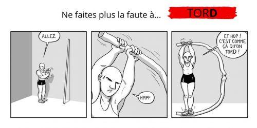 101 dessins pour ne plus faire de fautes, bd chez Les Editions de l'Opportun de Rimbault