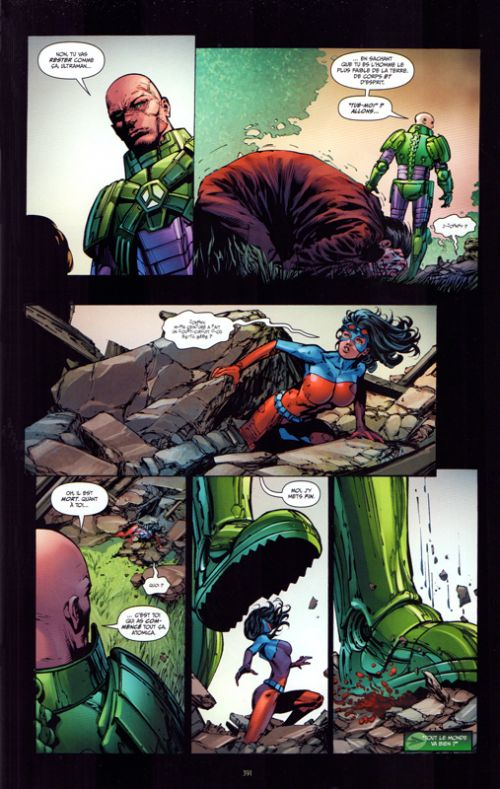Justice League T3, comics chez Urban Comics de Johns, Gates, Mahnke, Finch, Salazar, Kudranski, Reis, Morey, Kalisz, Oback, Aviña, Reis, Eltaeb, Friend