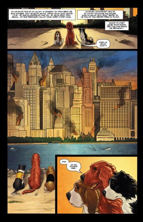 Rover Red Charlie, comics chez Komics Initiative de Ennis, DiPascale
