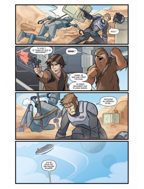Star Wars : Le vol du Faucon Millenium, comics chez Delcourt de Moreci, Pasta, Florean, Iacono, Martinelli, Matera