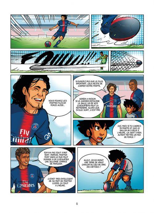 PSG Academy Dream Team T2 : Paris do Brasil ! (0), bd chez Soleil de Mariolle, Bento, Perdrolle
