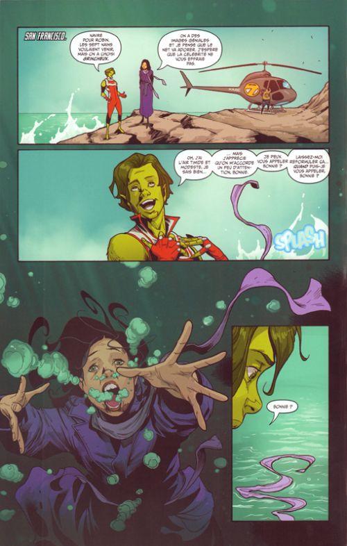 Teen Titans rebirth T2 : Le sang de Manta (0), comics chez Urban Comics de Percy, Pham, Charalampidis, Blond