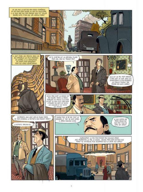 Hercule Poirot T4 : ABC contre Poirot (0), bd chez Paquet de Brrémaud, Zanon