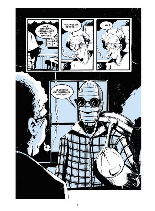The Nobody, comics chez Futuropolis de Lemire