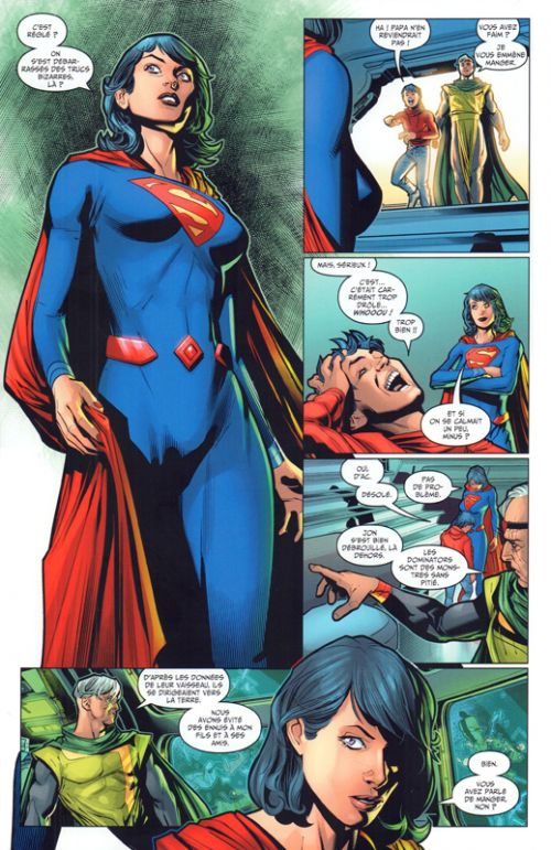 Clark Kent : Superman  T3 : La maison El (0), comics chez Urban Comics de Andreyko, Bendis, Fabok, Shaner, Peterson, Maguire, Reis, Sinclair, FCO Plascencia, Prado