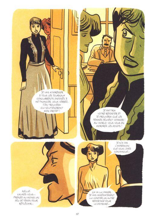 Nellie Bly, bd chez Steinkis de Cimino, Algozzino