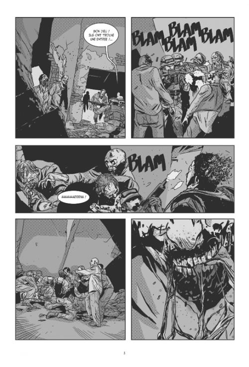 Voraces, comics chez Glénat de Bec, Landini