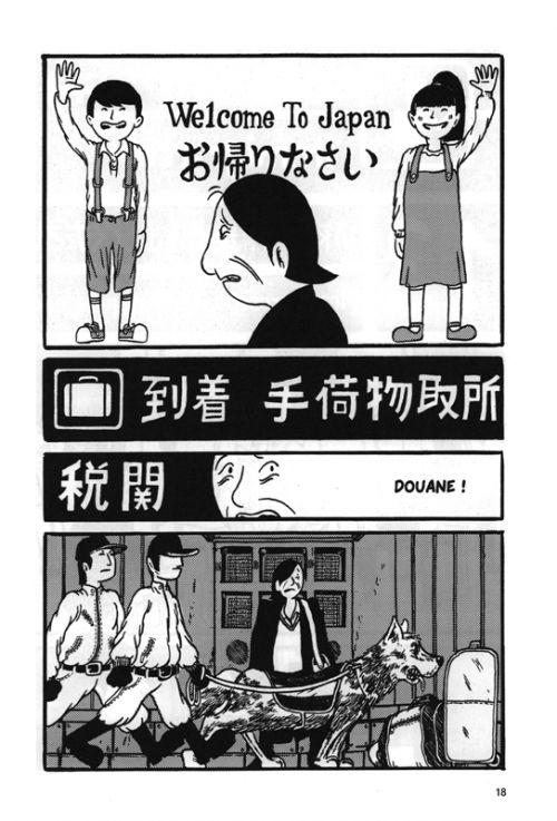 Voyage à Tokyo, manga chez Le Lézard Noir de Filosa