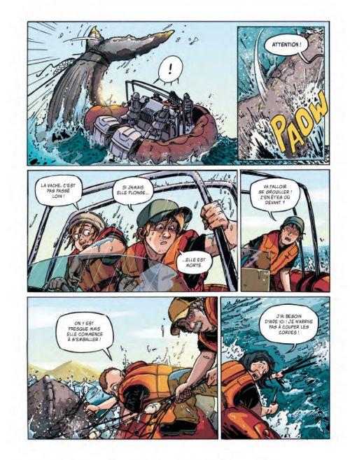 Sea Shepherd T1 : Milagro (0), bd chez Robinson de Mazurage, 1ver2anes