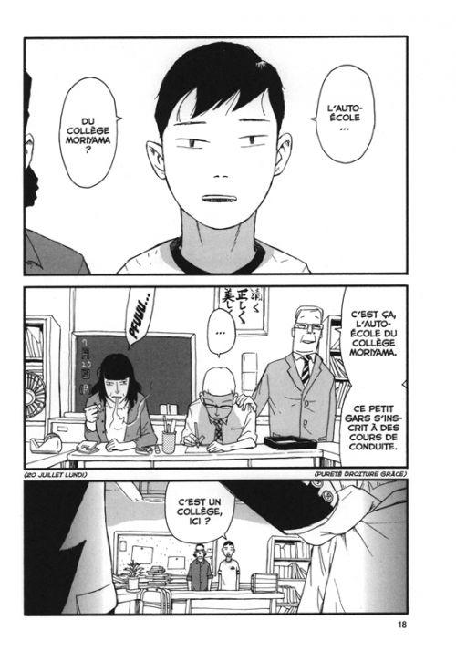 L'auto-école du collège Moriyama, manga chez Le Lézard Noir de Shinzo