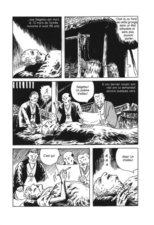 L'homme sans talent, manga chez Atrabile de Tsuge