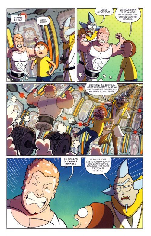 Rick and Morty : Pocket Mortys : Soumettez-les tous ! (0), comics chez Hi Comics de Howard, Farina, Ellerby