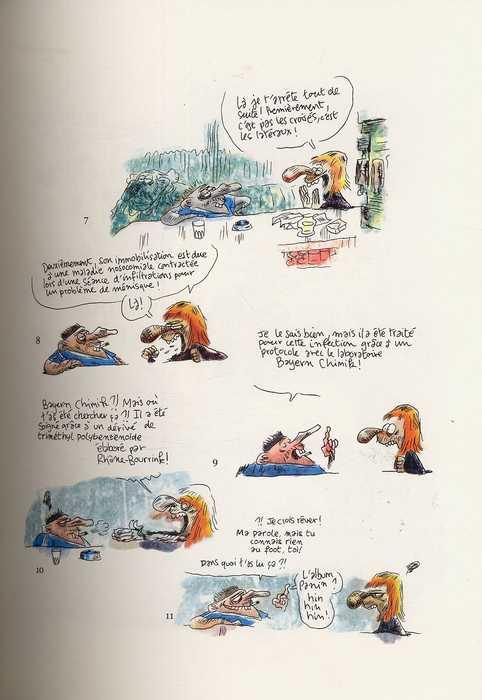 Chez Francisque T2, bd chez Fluide Glacial de Lindingre, Larcenet, Larcenet