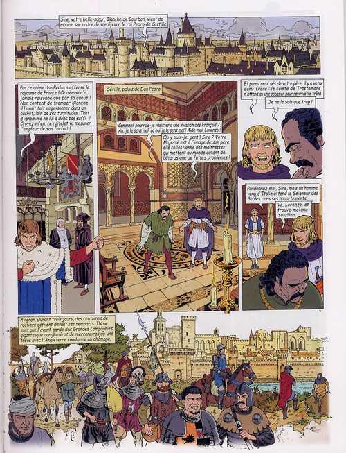 Vasco T22 : La dame noire (0), bd chez Le Lombard de Chaillet, Toublanc, Drouaillet