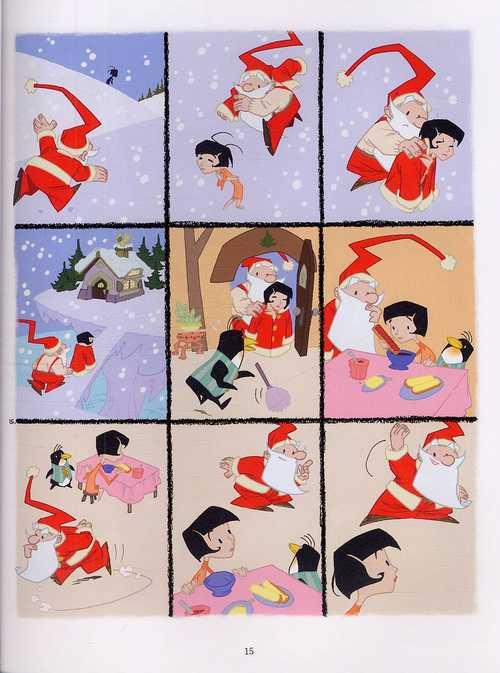 Le petit monde de père Noël T1 : Elle veut changer Noël (0), bd chez Dupuis de Révérend, Robin, Bertrand