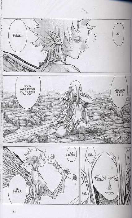 Claymore T5 : Histoire de guerrières (0), manga chez Glénat de Yagi