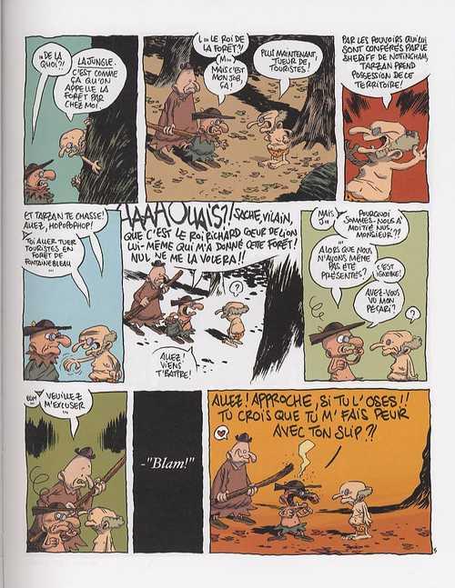 La légende de Robin des bois : La légende de Robin des bois (0), bd chez Dargaud de Larcenet