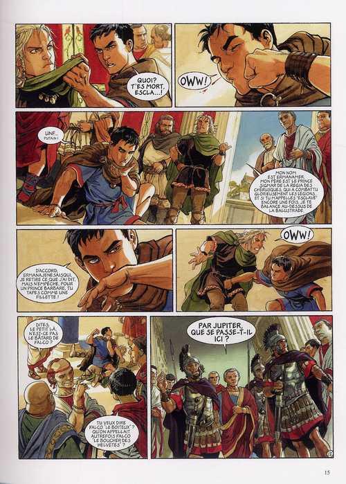 Les aigles de Rome T1 : Livre 1 (0), bd chez Dargaud de Marini