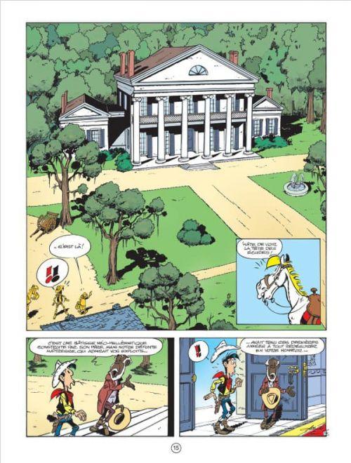 Les Nouvelles aventures de Lucky Luke T9 : Un cow-boy dans le coton (0), bd chez Lucky Comics de Jul, Achdé, Mel