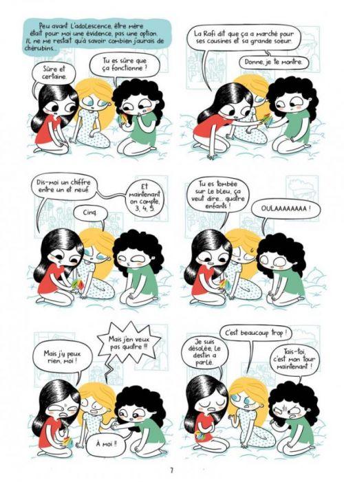 Je ne veux pas être maman, bd chez Bang Ediciones de Olmo