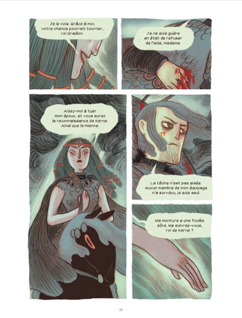 Soeurs d'Ys : La malédiction du royaume englouti (0), comics chez Rue de Sèvres de Anderson, Rioux