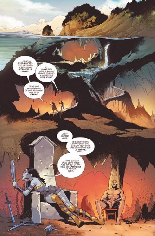 Wonder Woman Guerre et amour T1, comics chez Urban Comics de Wilson, Merino, Derenick, Nord, Lupacchino, Xermanico, Fajardo Jr, Frison