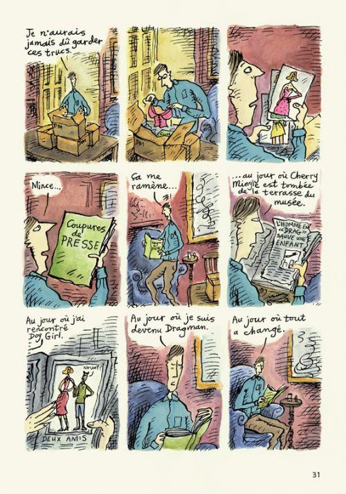 Dragman, comics chez Denoël de Appleby