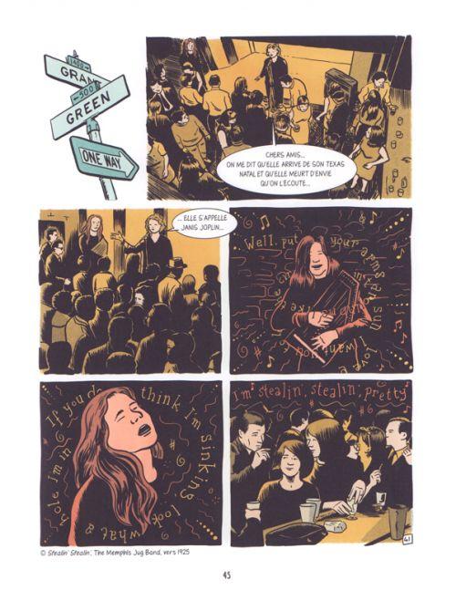Love me please : Une histoire de Janis Joplin (0), bd chez Marabout de Finet, Christopher, Degreef