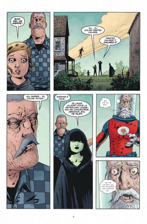 Black Hammer T3 : L'heure du Jugement (0), comics chez Urban Comics de Lemire, Ormston, Stewart
