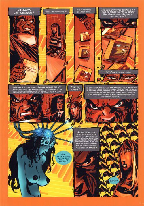Apocalypse selon Lola, bd chez Akileos de Qwak