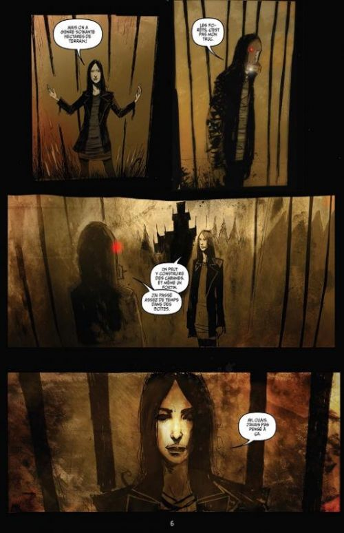 October faction T2, comics chez Delcourt de Niles, Worm