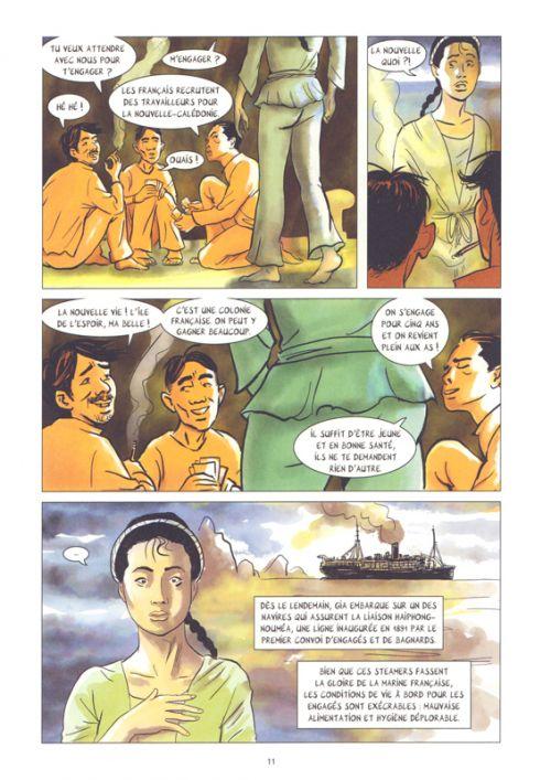 Mémoires de Viet Kieu T4 : Les engagés de Nouvelle-Calédonie (0), bd chez La boîte à bulles de Daum, Baloup