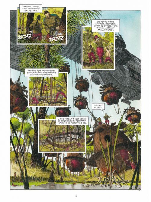 Terre T1 : Le vieux monde (0), bd chez Daniel Maghen de Rodolphe, Dubois
