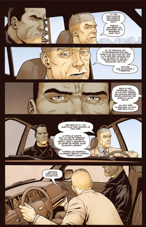 Punisher : Soviet, comics chez Panini Comics de Ennis, Ortego, Burrows, Woodard, Rivera