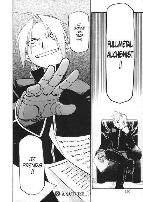 Fullmetal Alchemist – Perfect, T4, manga chez Kurokawa de Arakawa