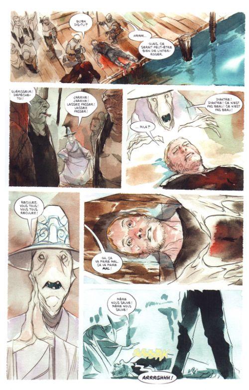 Ascender T2 : La mer morte (0), comics chez Urban Comics de Lemire, Nguyen