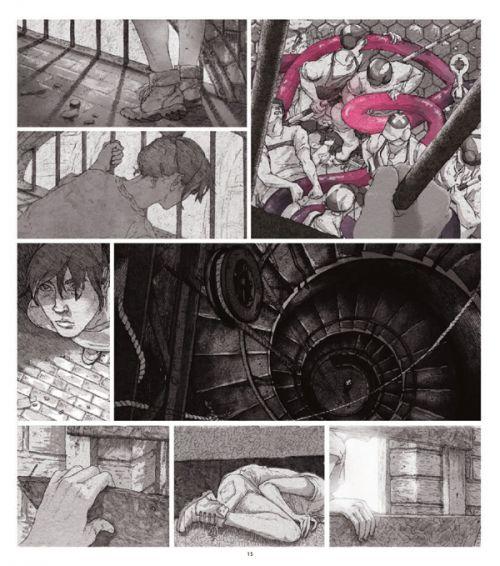 Square Eyes, comics chez Delcourt de Mill, Jones