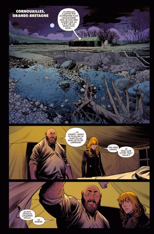 Once and Future T1, comics chez Delcourt de Gillen, Mora, Bonvillain