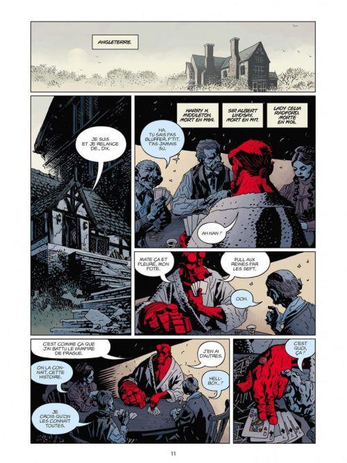 Hellboy T5 : Deluxe (0), comics chez Delcourt de Mignola, Stewart