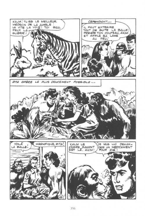 Akim T1 : 1958-1959 (0), comics chez Robinson de Renzi, Pedrazza