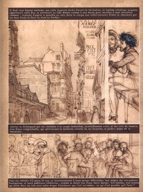Les Cahiers Baudelaire T2, bd chez Dupuis de Yslaire